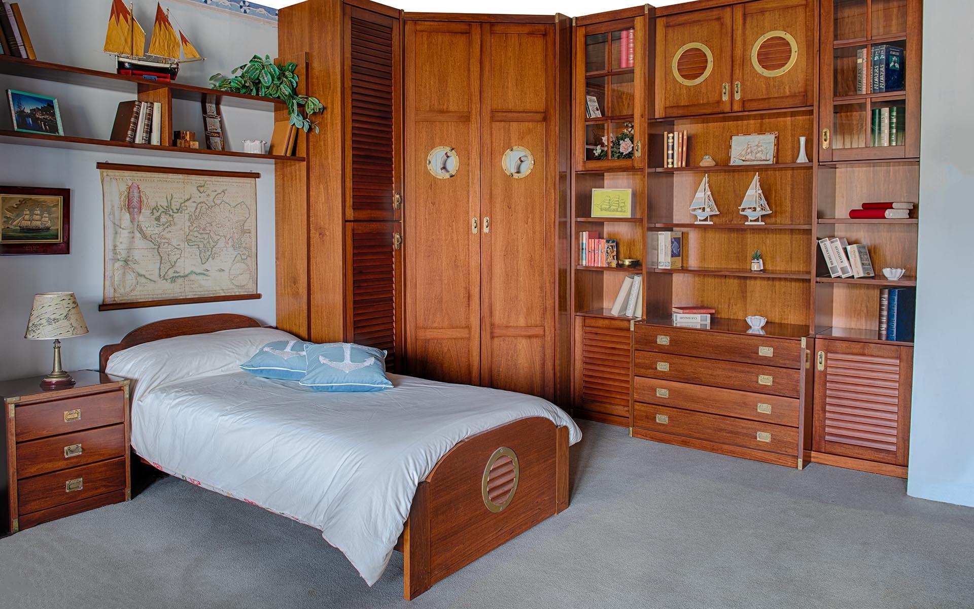 Camera in legno per ragazzi - La perugina